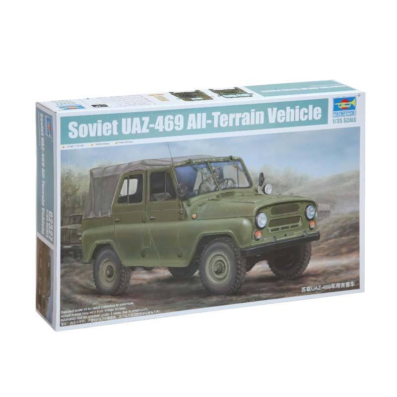 Trumpeter Soviet UAZ-469 All-Terrain Vehicle