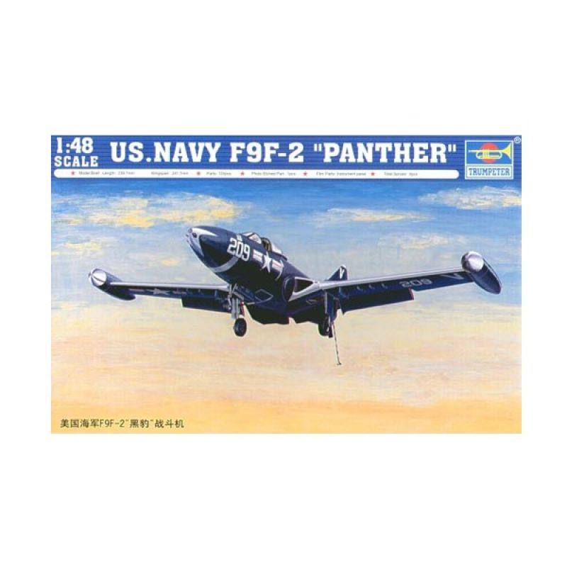 Trumpeter US.NAVY F9F-2 Panther