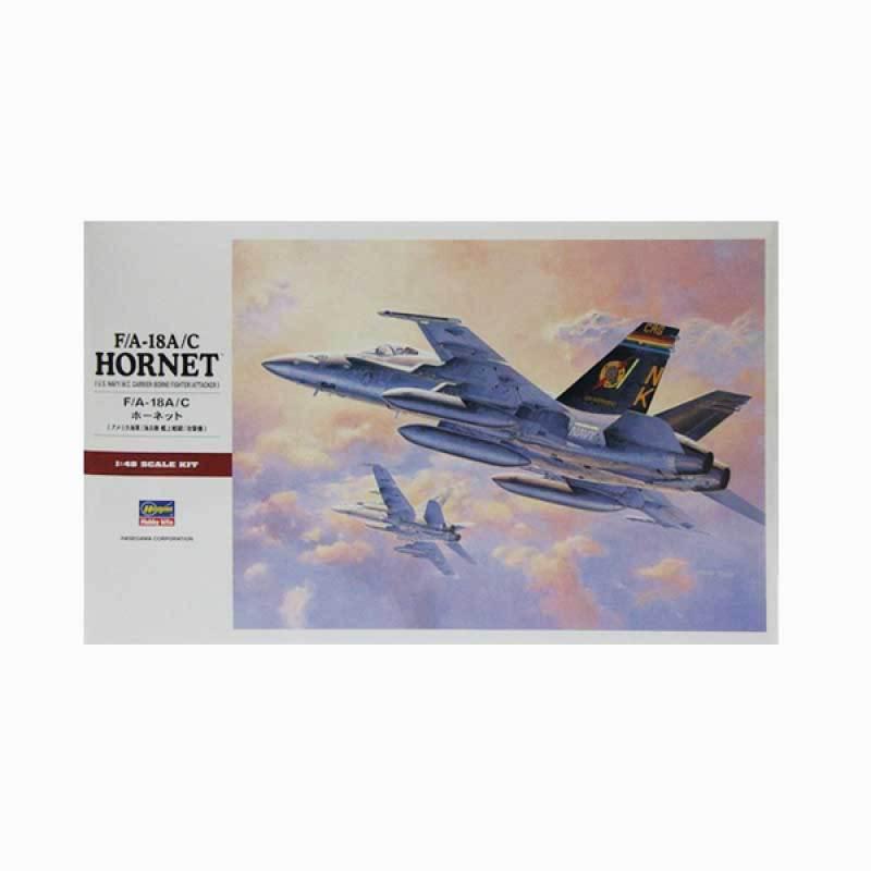 Hasegawa F/A-18A/C Hornet - U.S. Navy/M.C. Carrier-Borne Fighter/Attacker