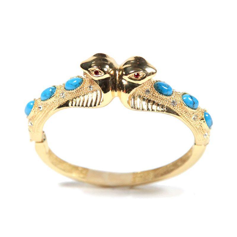 Petite Lola Turquoise Cobra Bracelet