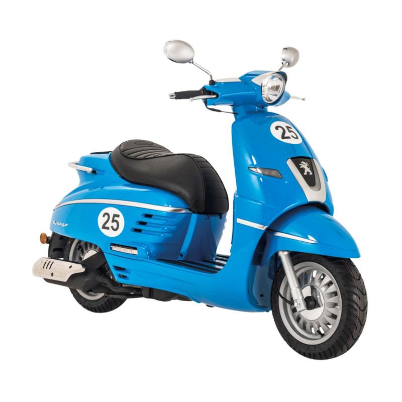 Indent - Peugeot Scooters Django Sport Sepeda Motor - Blue