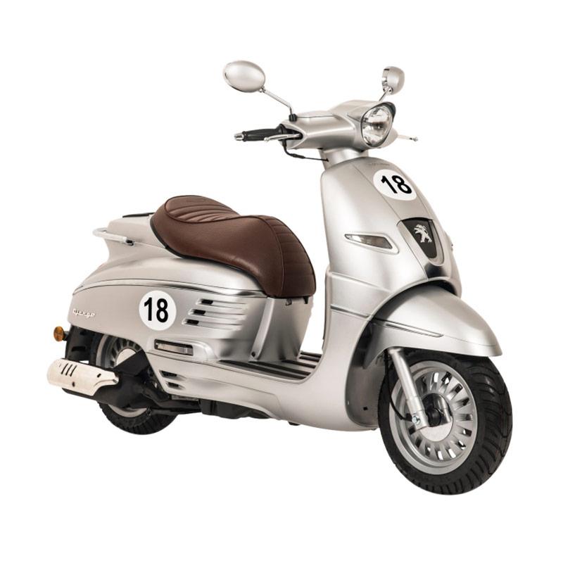 Indent - Peugeot Scooters Django Sport Cream Sepeda Motor