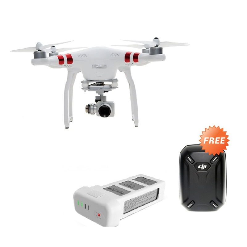 Phantom 3 DJI Phantom Standard + Baterry + Tas Hard Case