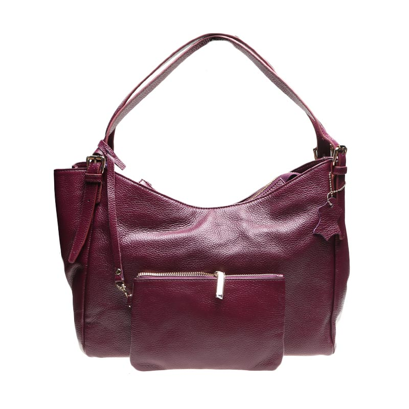 BNI - Phillipe Jourdan Berry Hand Bag  IWL 0215007 Ungu Hand Bag