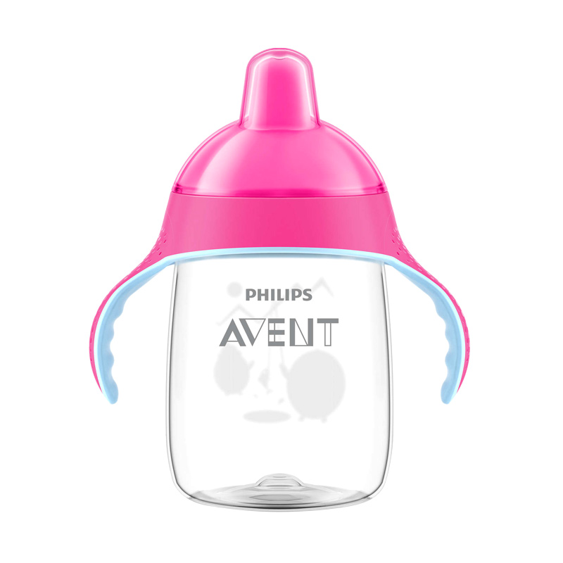 Philips Avent SCF755/00 Premium Spout Cup - Pink [12Oz/Single]