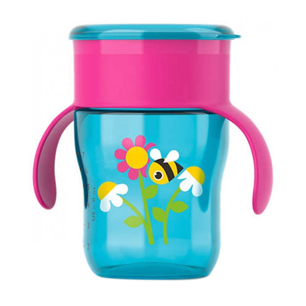 Philips Avent SCF782/20 Grown Up Cup - Pink [12M+/9 Oz]