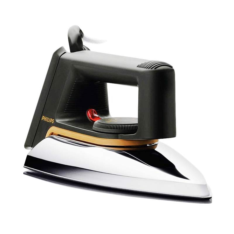 Philips HD1172 Dry Iron Setrika Listrik - Hitam