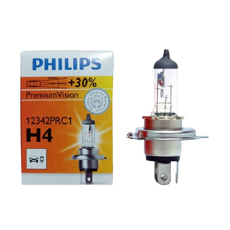 Jual Philips Bohlam Halogen H4 P43t