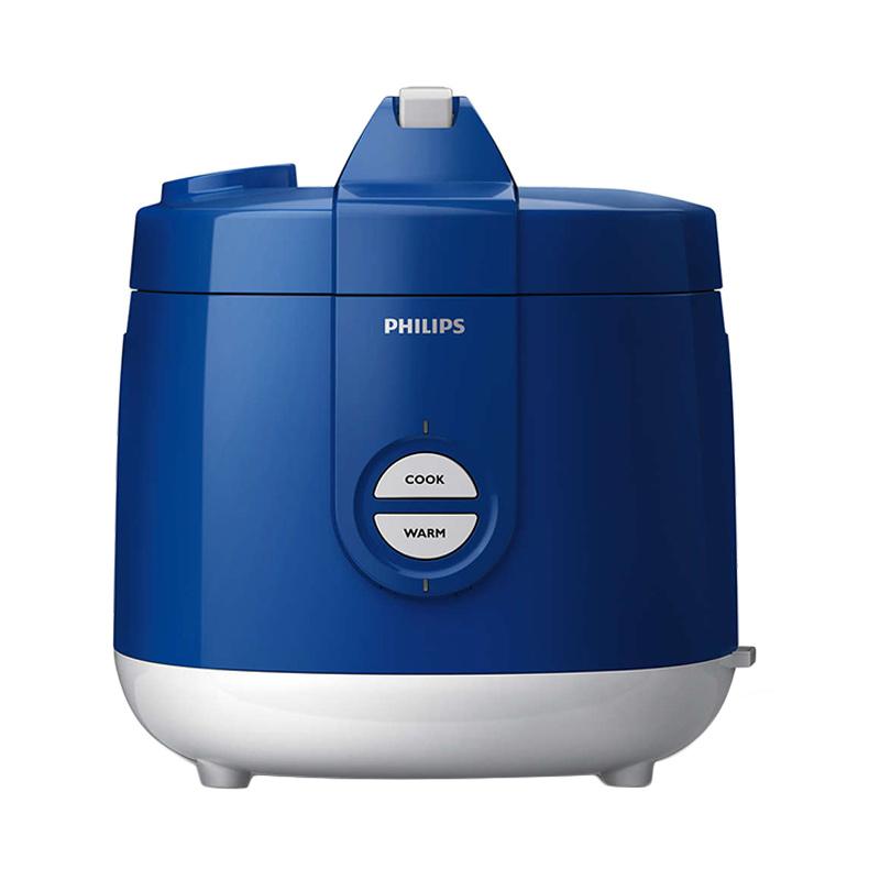 Philips HD3127/31 Rice Cooker - Biru