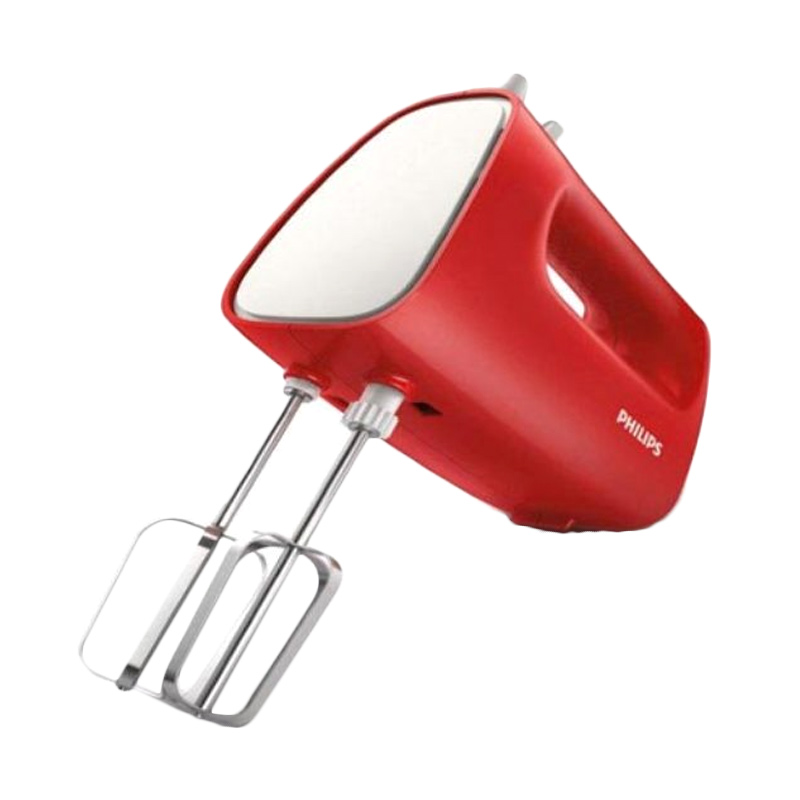 PHILIPS HR 1552 Hand Mixer - Merah