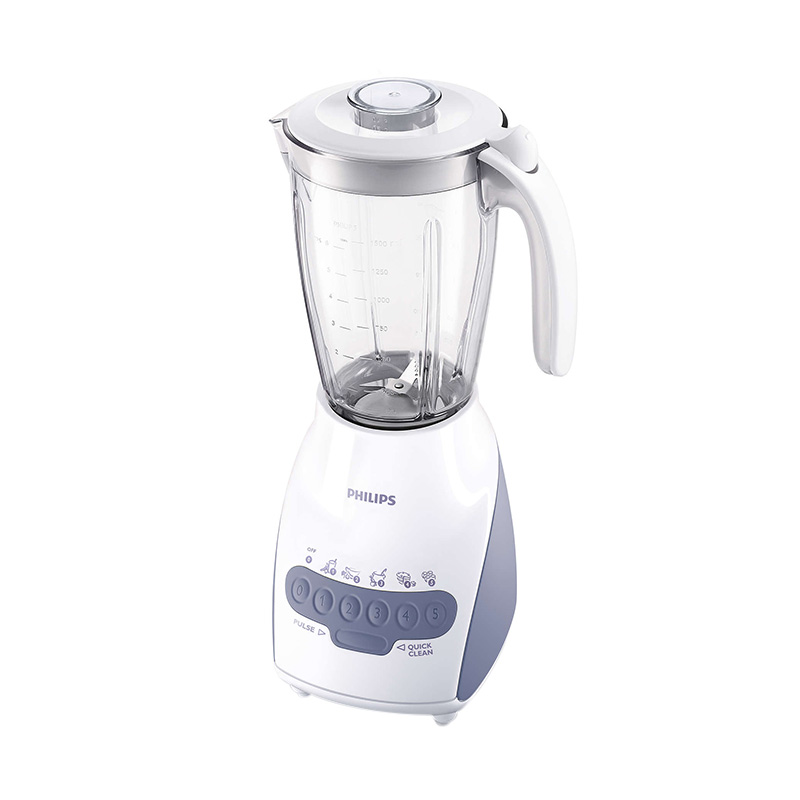 PHILIPS HR2116 Blender Kaca Food Grade [2L/350W] + Dry Mill