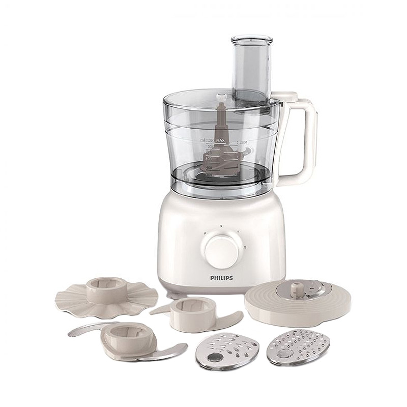 Philips HR-7627 Putih Food Processor