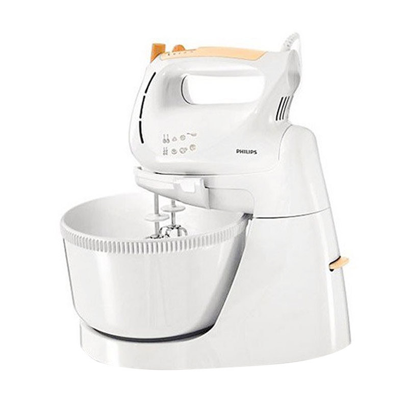 Daily Deals - Philips HR1538 Putih Oranye Stand Mixer