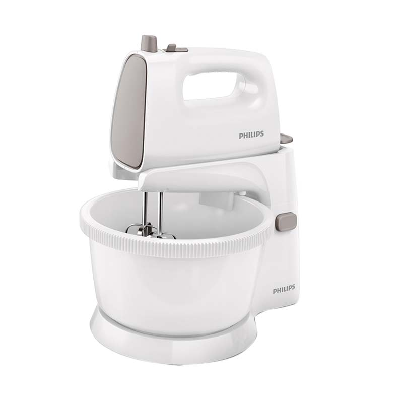 Philips HR1559 New Stand Mixer - White Gray