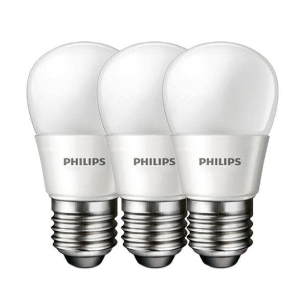 Philips Lampu Bohlam LED [7W - 60W/3 Pcs]
