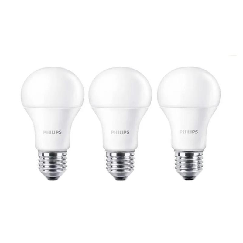 Jual Philips Led Bulb A60 Putih Lampu 6 Watt 3 Pcs Online Harga