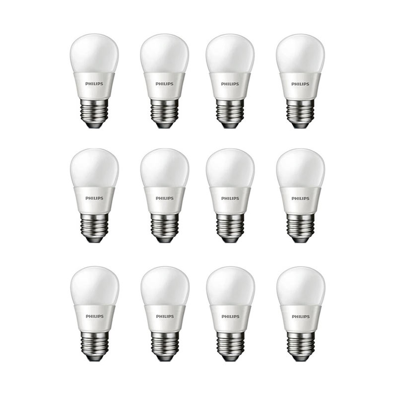 Jual Philips LED Putih Lampu Bohlam 3 W 25 W 12 Pcs