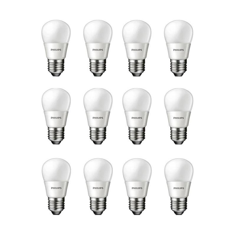 Jual Philips LED Putih Lampu Bohlam 3 W 25 W 12 Pcs