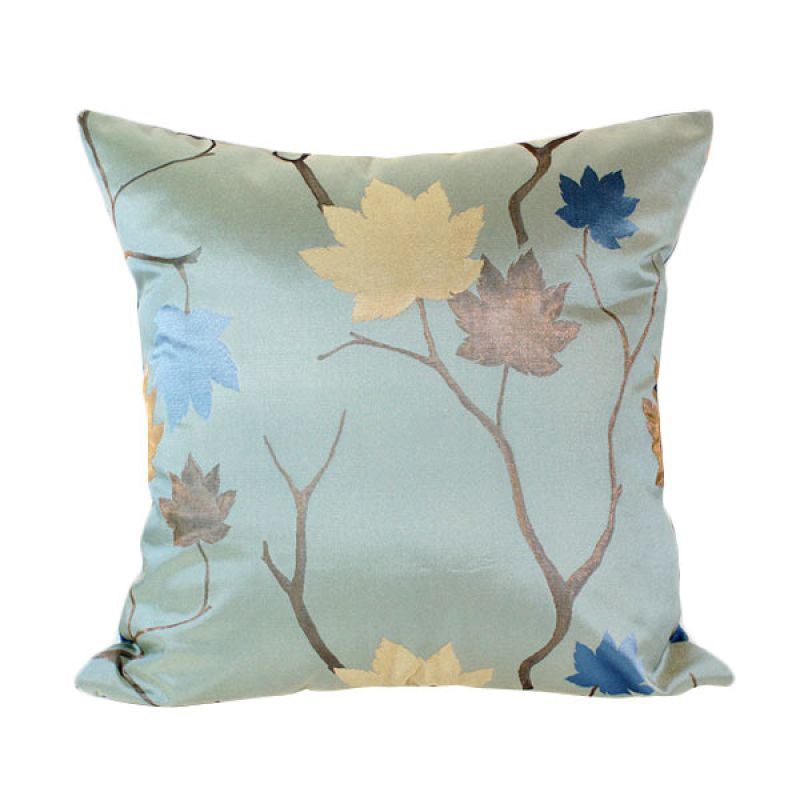 Philo-Blue Ivy cushion cover