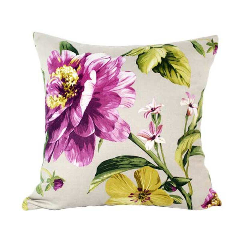 Philo Interior Peony Cushion Cover