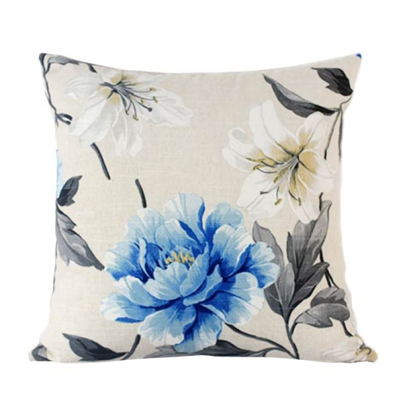 Philo-Iris cushion cover