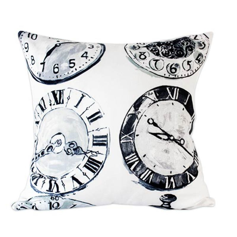 Philo-London Clocks cushion cover