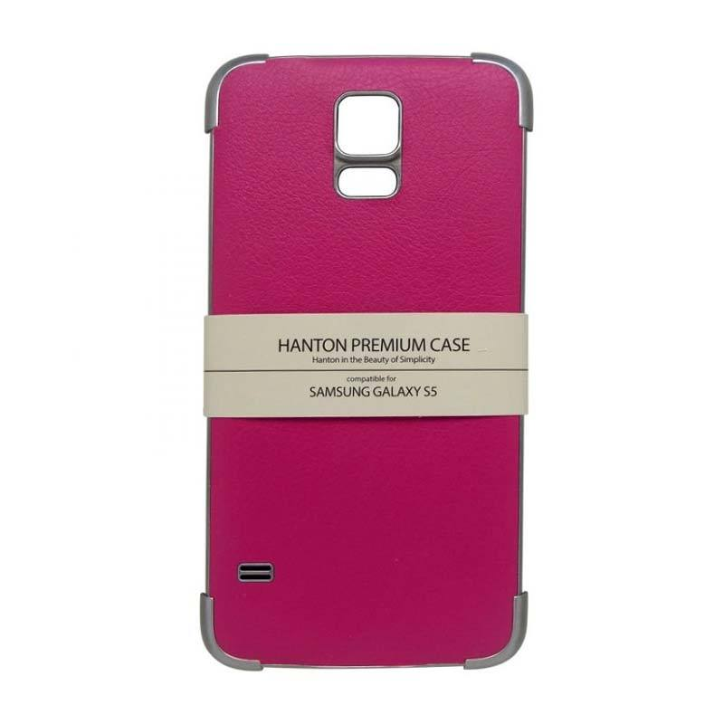 Hanton Edge Cover Pink Casing for Samsung Galaxy S5