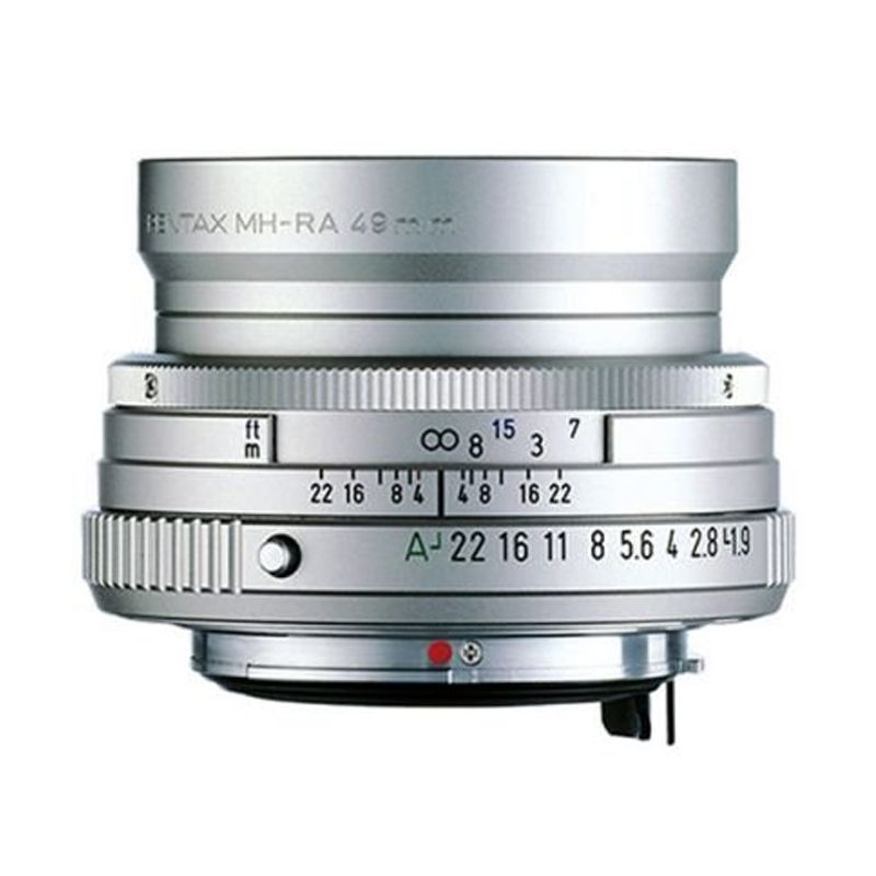Pentax Limited SMC FA 43mm F1.9 Silver Lensa Kamera