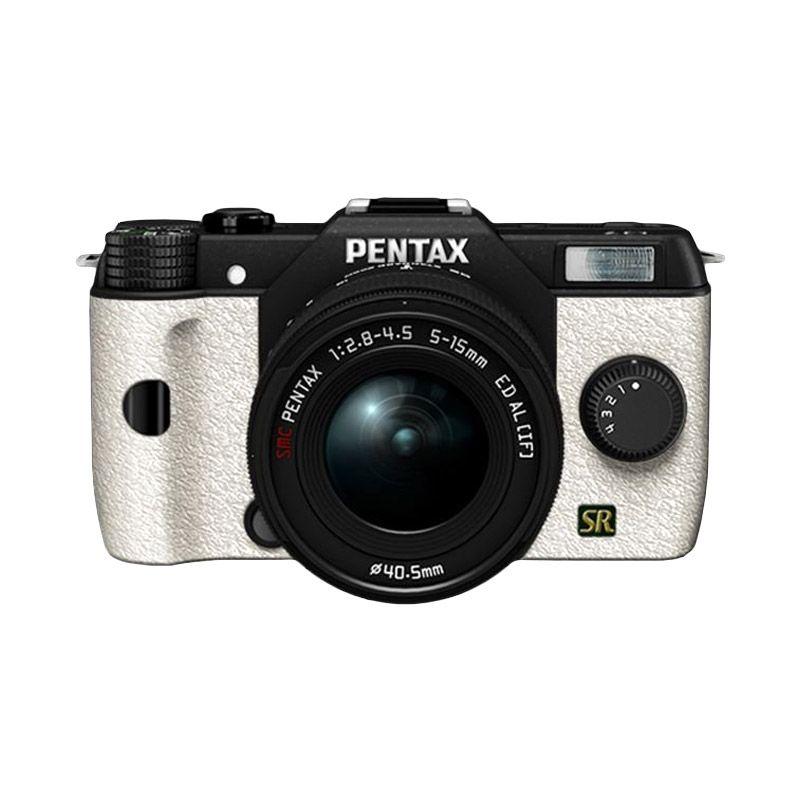 Pentax Q7 Lens Kit Hitam Putih Kamera Mirrorless
