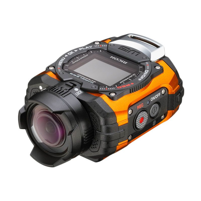 Ricoh WG-M1 Orange Action Cam