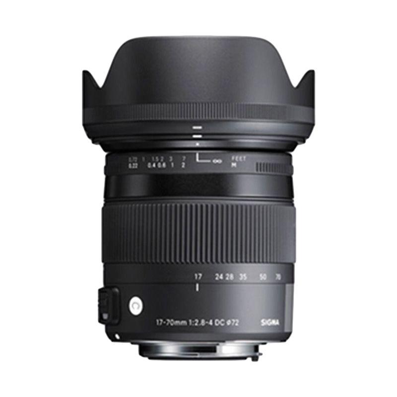 Sigma 17-70 mm F 2.8-4 DC Macro OS HSM (C) Lensa Kamera for Nikon