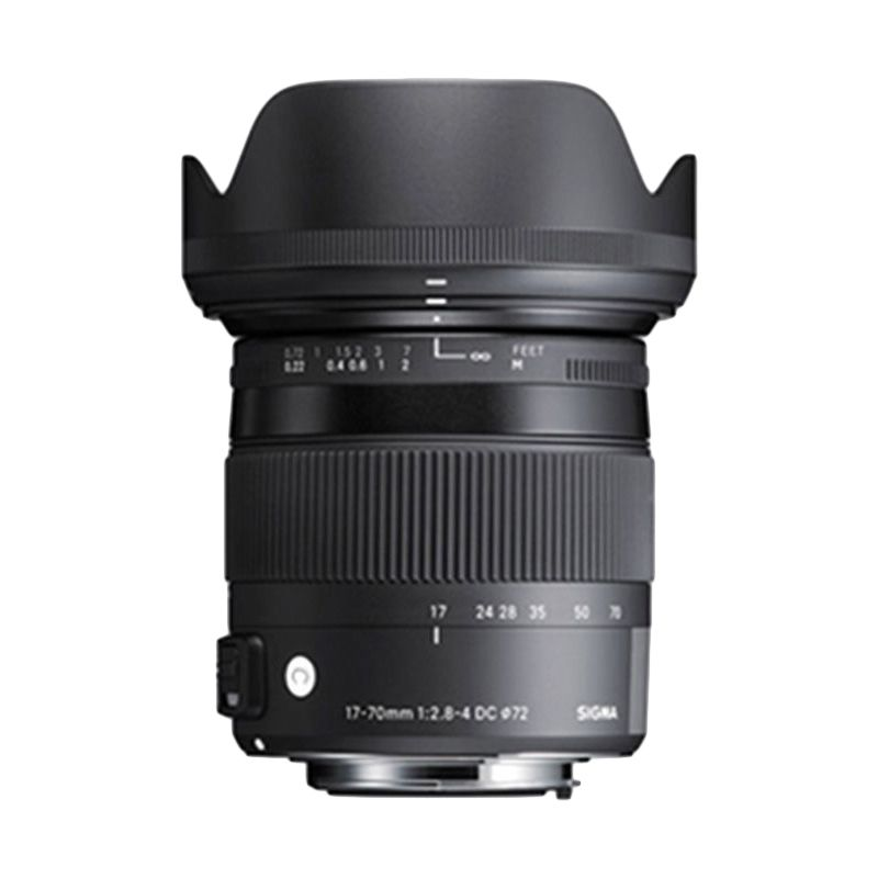 Sigma 17-70mm F2.8-4 DC OS HSM C Macro Black Lens for Canon