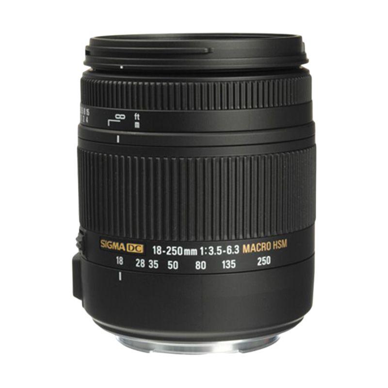 Sigma 18-250mm F 3.5 -6.3 DC Macro OS Camera Lens For Nikon