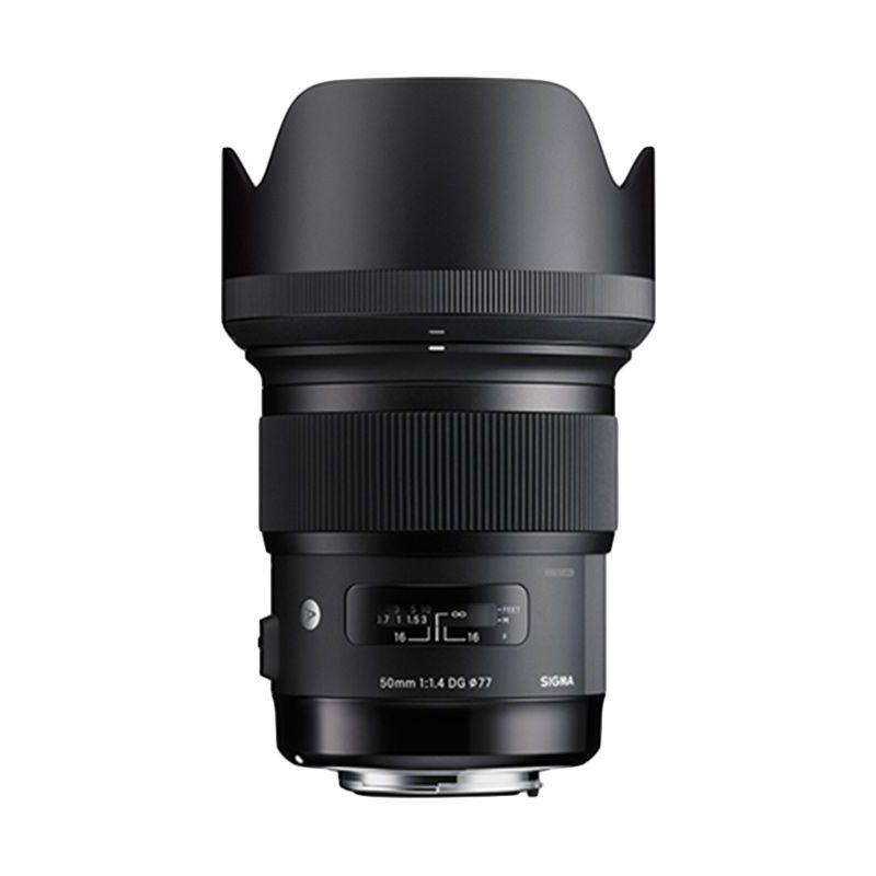 Sigma 50mm F 1.4 DG HSM Art for Nikon Lensa Kamera