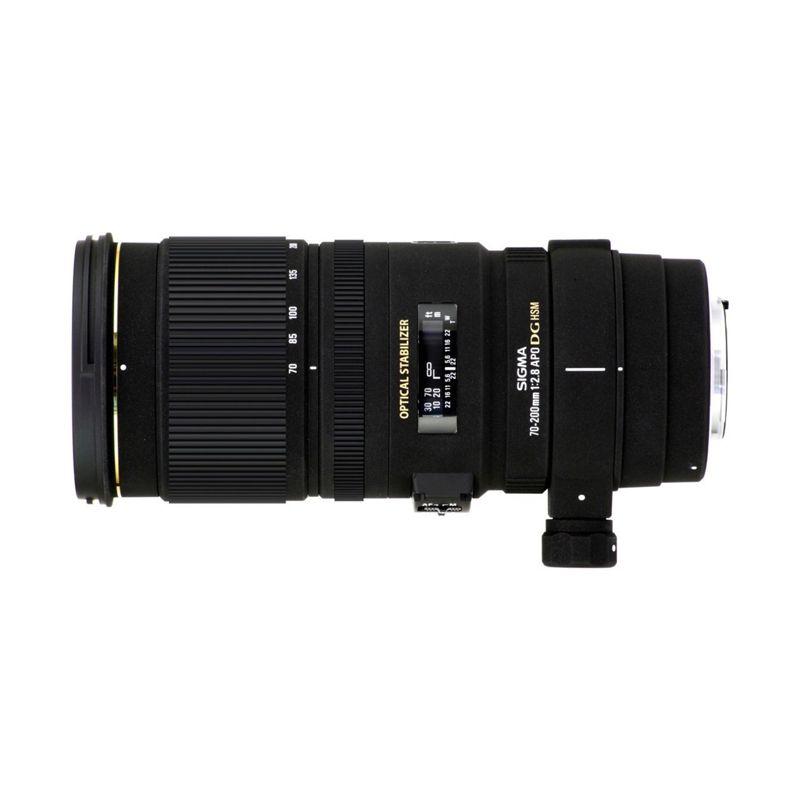 Sigma 70-200mm F2.8 APO EX DG OS HSM Black Camera Lens for Nikon