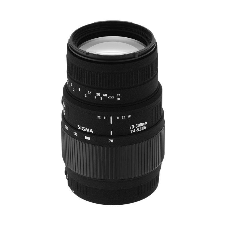 Sigma 70-300 f/4-5.6 DG Macro Lensa Kamera for Canon