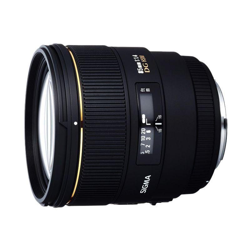 Sigma 85mm f/1.4 EX DG HSM Lensa Camera untuk Sony