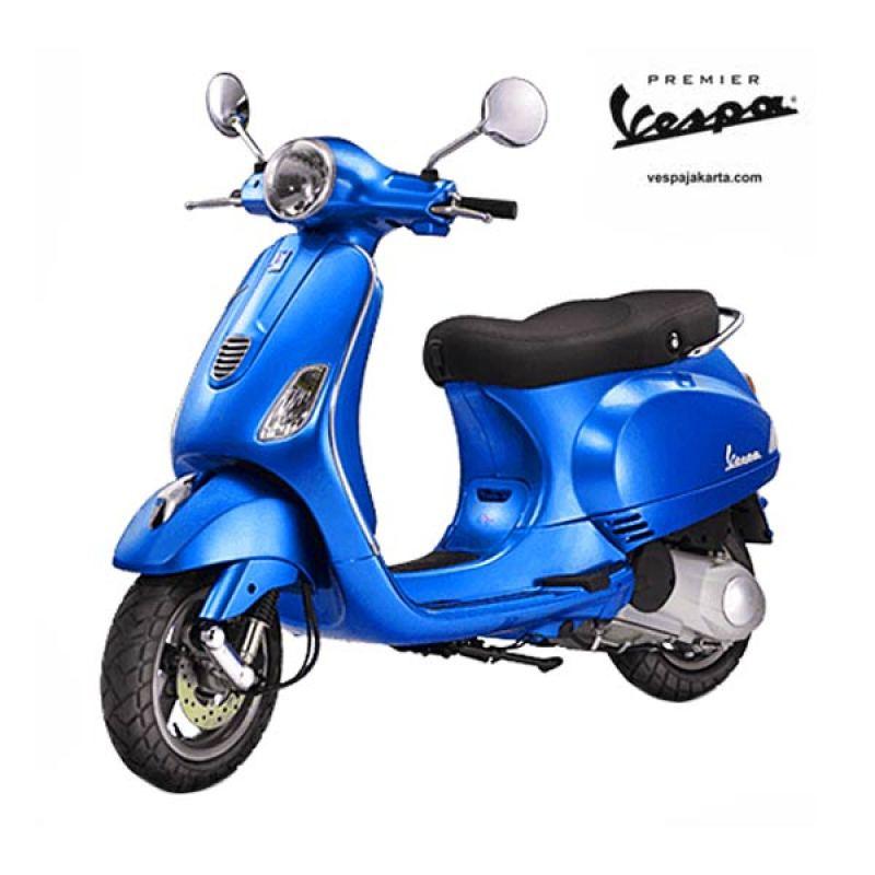 VESPA LX 150 3V IE Blue Sepeda Motor OTR Bogor