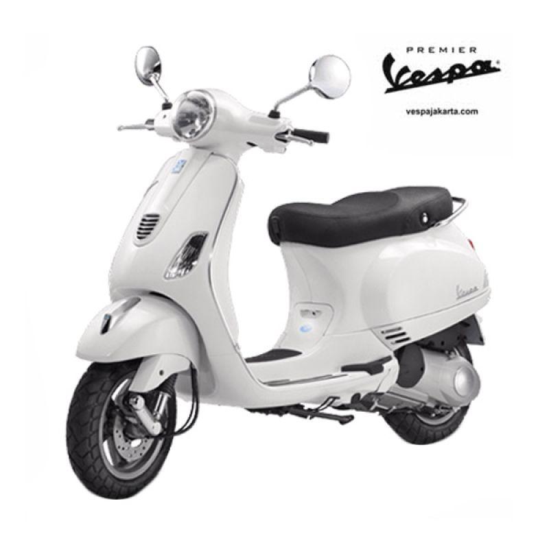 VESPA LX 150 3V IE White Sepeda Motor OTR Bogor