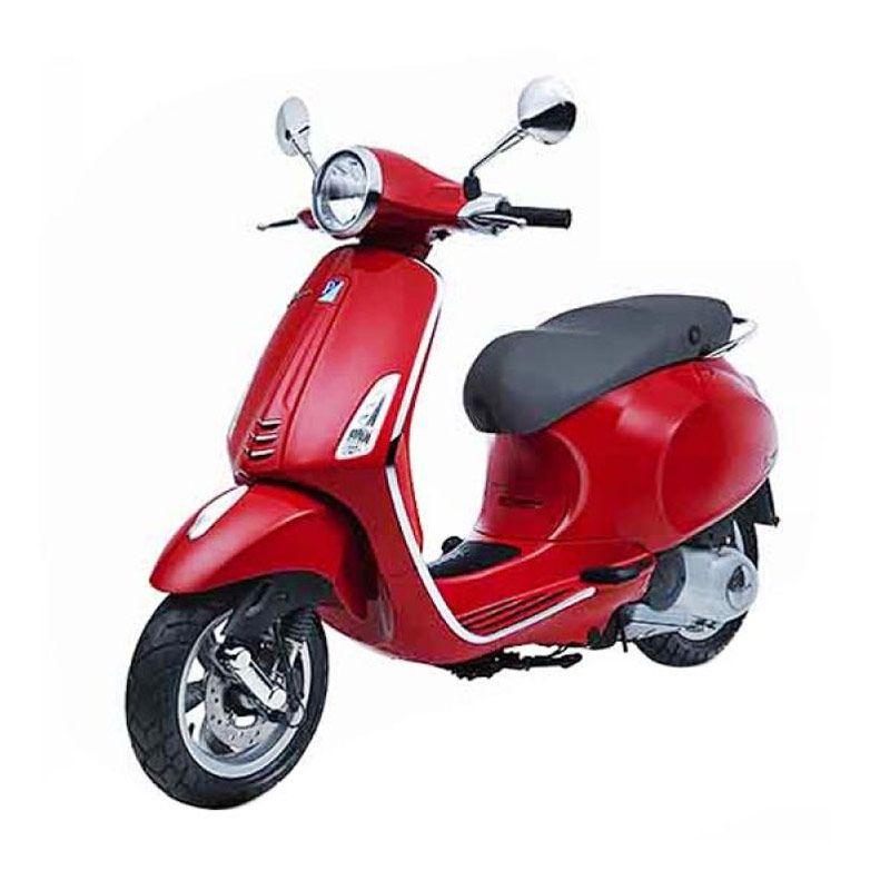 VESPA PRIMAVERA 150 3V I.E (Red) Sepeda Motor OTR Bogor