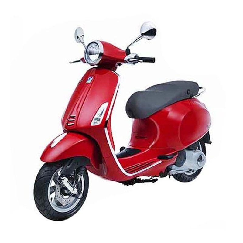 VESPA PRIMAVERA 150 3V I.E (Red) Sepeda Motor OTR Depok