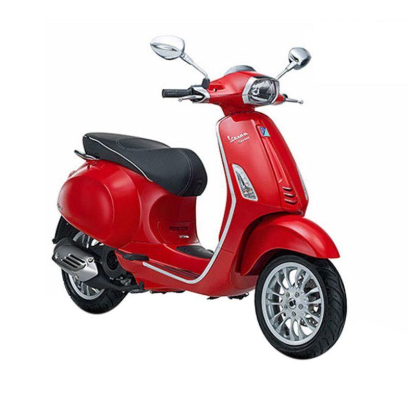 Vespa Sprint 150 3V I.E Red Sepeda Motor [Jakarta]