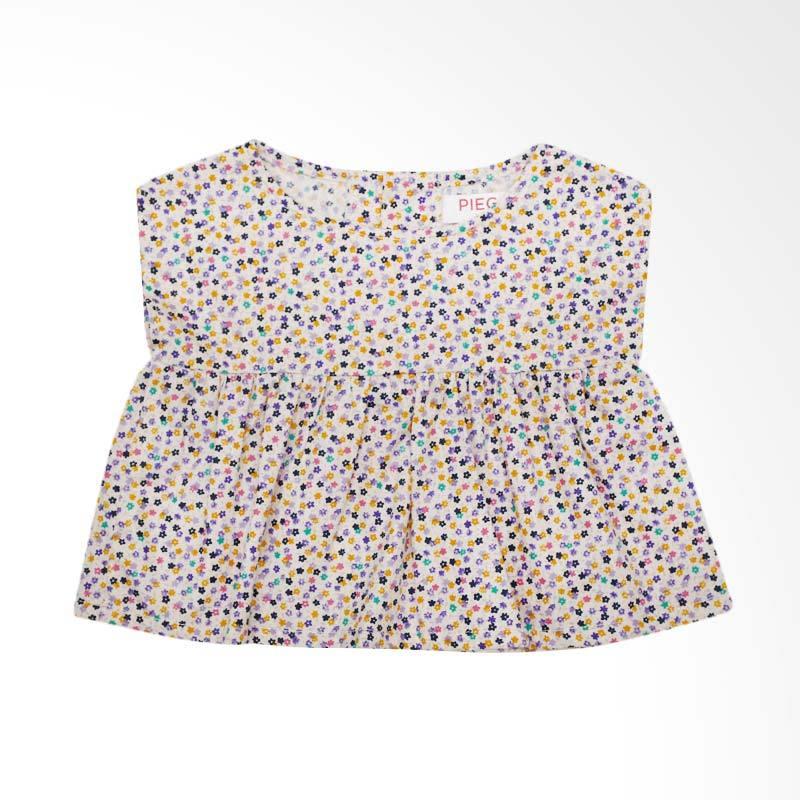 Piega Kidswear Anna Top Purple Atasan Anak Perempuan