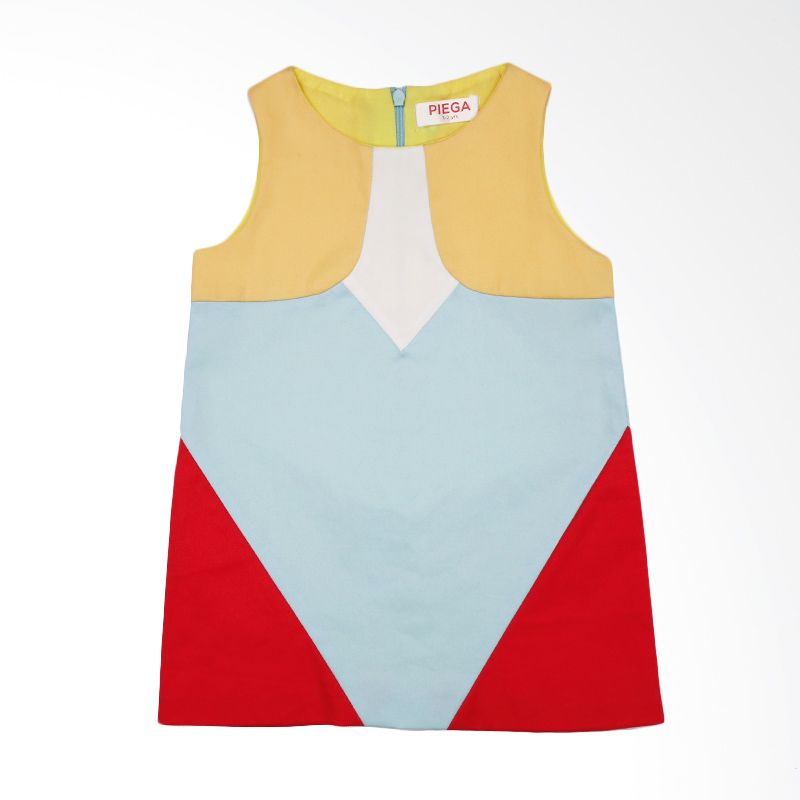 Piega Kidswear Clara Colorful Dress Anak