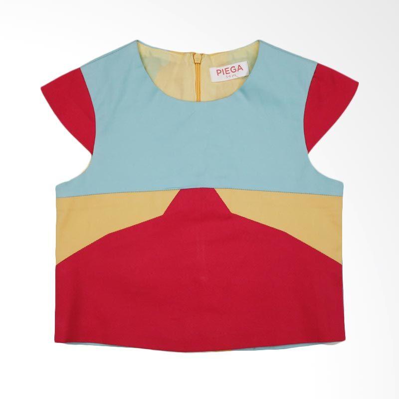 Piega Kidswear Kelly Crop Colorful Atasan Anak Perempuan