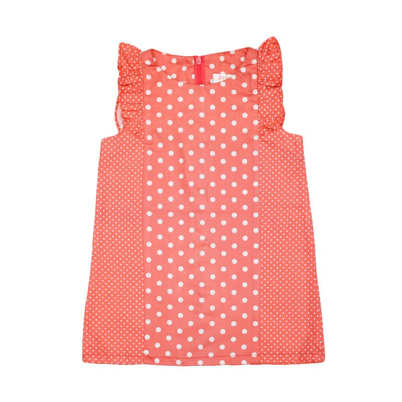 Piega Kidswear Michelle Pink Dress Anak
