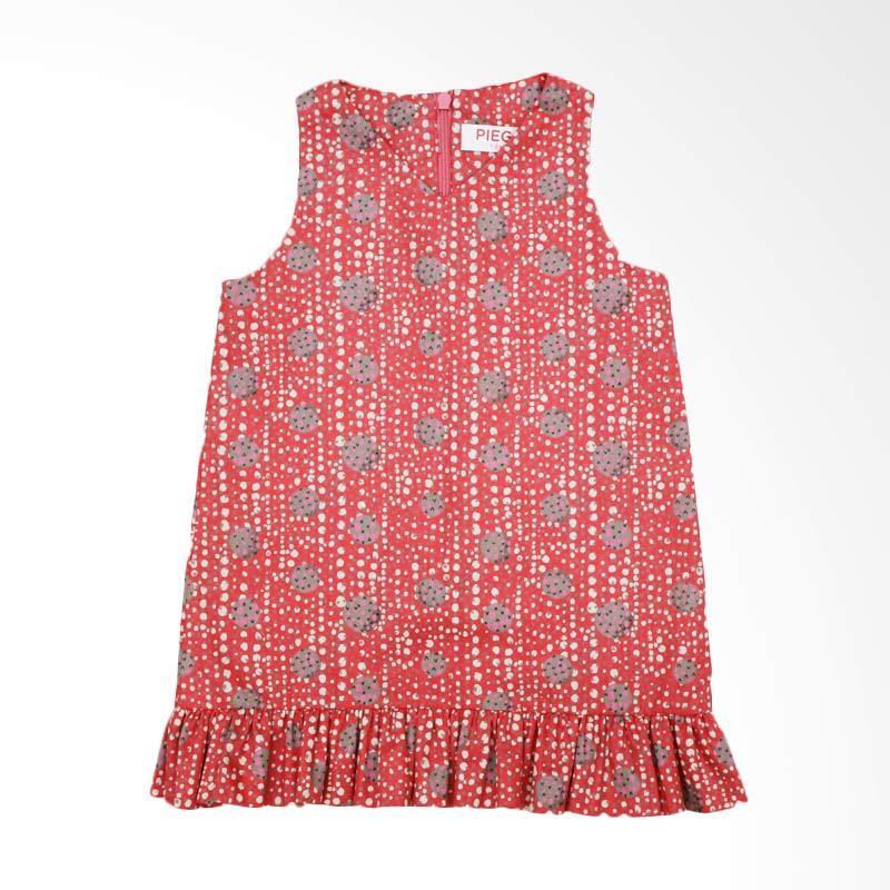Piega Kidswear Sharon Red Dress Anak