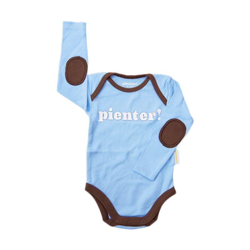 Onesie Lengan Panjang Milky Blue Baju Jumpsuit