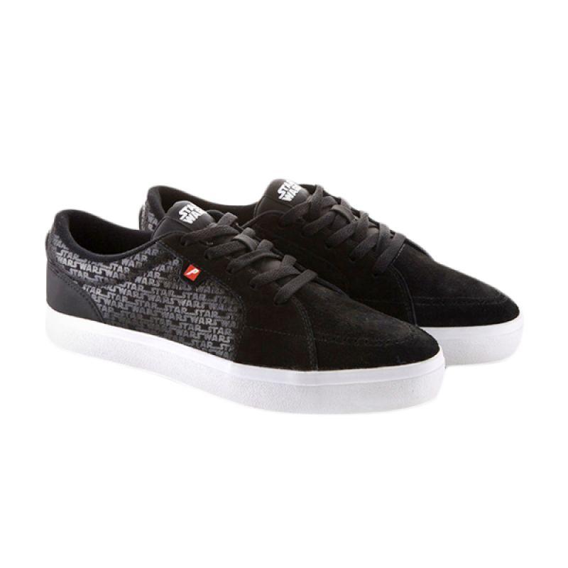 Jual Pre Order Piero X Star Wars Denham Star Wars P10480 Black White Sneakers Pria
