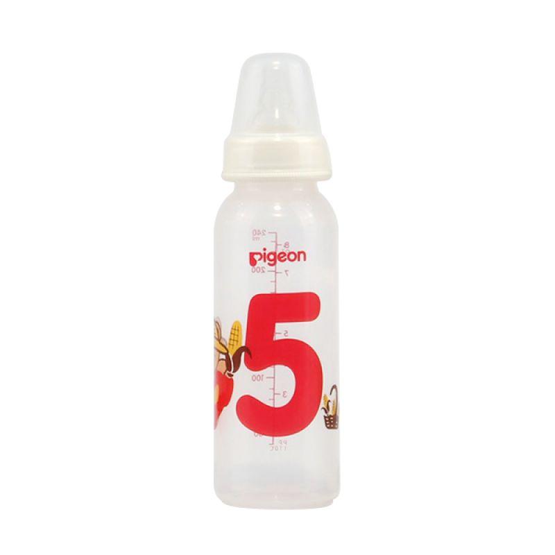 Pigeon Botol PP RP Coro Angka 5 W/S-Type PR010381 Nipple [240 mL]